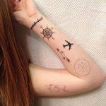 фото Тату для девушек от 08.06.2018 №161 - Tattoo for Girls - tatufoto.com