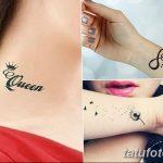 фото Тату для девушек от 08.06.2018 №467 - Tattoo for Girls - tatufoto.com