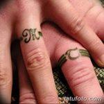фото Тату инициалы от 19.06.2018 №019 - tattoo initials - tatufoto.com