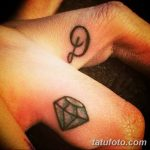 фото Тату инициалы от 19.06.2018 №021 - tattoo initials - tatufoto.com