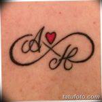 фото Тату инициалы от 19.06.2018 №037 - tattoo initials - tatufoto.com