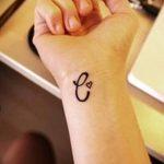 фото Тату инициалы от 19.06.2018 №054 - tattoo initials - tatufoto.com