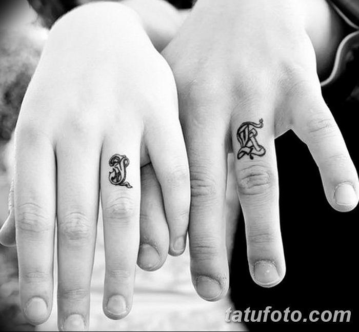 фото Тату инициалы от 19.06.2018 №057 - tattoo initials - tatufoto.com