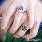 фото Тату инициалы от 19.06.2018 №063 - tattoo initials - tatufoto.com 235231