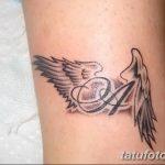 фото Тату инициалы от 19.06.2018 №065 - tattoo initials - tatufoto.com