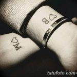 фото Тату инициалы от 19.06.2018 №067 - tattoo initials - tatufoto.com