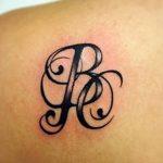фото Тату инициалы от 19.06.2018 №068 - tattoo initials - tatufoto.com