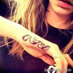 фото Тату инициалы от 19.06.2018 №069 - tattoo initials - tatufoto.com