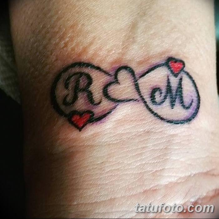 фото Тату инициалы от 19.06.2018 №072 - tattoo initials - tatufoto.com
