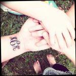 фото Тату инициалы от 19.06.2018 №092 - tattoo initials - tatufoto.com