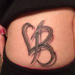 фото Тату инициалы от 19.06.2018 №096 - tattoo initials - tatufoto.com