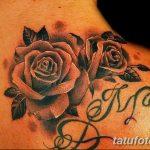 фото Тату инициалы от 19.06.2018 №098 - tattoo initials - tatufoto.com