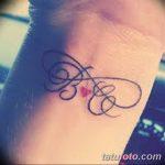 фото Тату инициалы от 19.06.2018 №114 - tattoo initials - tatufoto.com