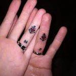фото Тату инициалы от 19.06.2018 №121 - tattoo initials - tatufoto.com