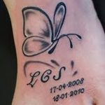фото Тату инициалы от 19.06.2018 №143 - tattoo initials - tatufoto.com