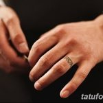 фото Тату инициалы от 19.06.2018 №170 - tattoo initials - tatufoto.com