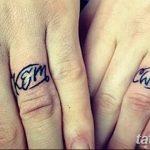 фото Тату инициалы от 19.06.2018 №175 - tattoo initials - tatufoto.com