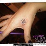 фото Тату инициалы от 19.06.2018 №176 - tattoo initials - tatufoto.com