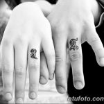 фото Тату инициалы от 19.06.2018 №177 - tattoo initials - tatufoto.com