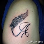 фото Тату инициалы от 19.06.2018 №186 - tattoo initials - tatufoto.com