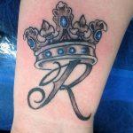 фото Тату инициалы от 19.06.2018 №197 - tattoo initials - tatufoto.com