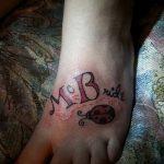 фото Тату инициалы от 19.06.2018 №205 - tattoo initials - tatufoto.com
