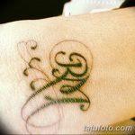 фото Тату инициалы от 19.06.2018 №213 - tattoo initials - tatufoto.com