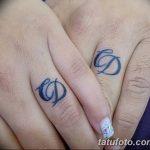 фото Тату инициалы от 19.06.2018 №216 - tattoo initials - tatufoto.com 23222