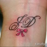 фото Тату инициалы от 19.06.2018 №230 - tattoo initials - tatufoto.com
