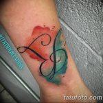 фото Тату инициалы от 19.06.2018 №234 - tattoo initials - tatufoto.com