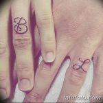 фото Тату инициалы от 19.06.2018 №236 - tattoo initials - tatufoto.com