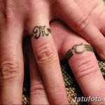 фото Тату инициалы от 19.06.2018 №237 - tattoo initials - tatufoto.com