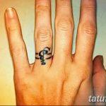 фото Тату инициалы от 19.06.2018 №241 - tattoo initials - tatufoto.com 2342