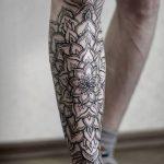 фото Тату на голени от 15.06.2018 №001 - Shin Tattoo - tatufoto.com