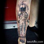 фото Тату на голени от 15.06.2018 №057 - Shin Tattoo - tatufoto.com