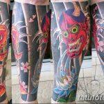 фото Тату на голени от 15.06.2018 №088 - Shin Tattoo - tatufoto.com