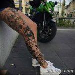 фото Тату на голени от 15.06.2018 №100 - Shin Tattoo - tatufoto.com