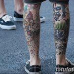 фото Тату на голени от 15.06.2018 №140 - Shin Tattoo - tatufoto.com