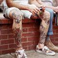 фото Тату на голени от 15.06.2018 №142 - Shin Tattoo - tatufoto.com