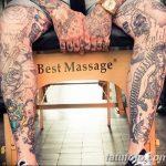 фото Тату на голени от 15.06.2018 №143 - Shin Tattoo - tatufoto.com
