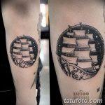 фото Тату на голени от 15.06.2018 №198 - Shin Tattoo - tatufoto.com