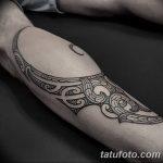 фото Тату на голени от 15.06.2018 №202 - Shin Tattoo - tatufoto.com