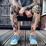 фото Тату на голени от 15.06.2018 №216 - Shin Tattoo - tatufoto.com