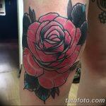 фото Тату на колене от 05.06.2018 №002 - Tattoo on the knee - tatufoto.com