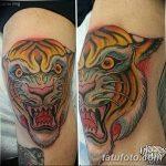фото Тату на колене от 05.06.2018 №019 - Tattoo on the knee - tatufoto.com