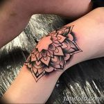 фото Тату на колене от 05.06.2018 №022 - Tattoo on the knee - tatufoto.com