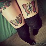 фото Тату на колене от 05.06.2018 №023 - Tattoo on the knee - tatufoto.com