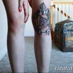 фото Тату на колене от 05.06.2018 №033 - Tattoo on the knee - tatufoto.com