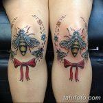 фото Тату на колене от 05.06.2018 №035 - Tattoo on the knee - tatufoto.com 235423
