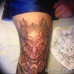 фото Тату на колене от 05.06.2018 №035 - Tattoo on the knee - tatufoto.com